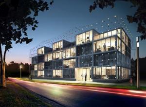 So könnte ein Smart-Material-House aussehen - oder anders.